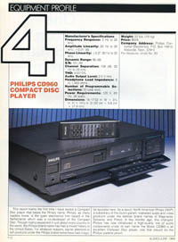 Philips CD960 review PDF