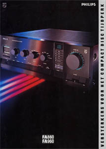 Philips FA860 and FA960 Dutch Brochure PDF