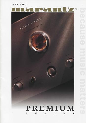 marantz 1999 2000 english brochure pdf. Black Bedroom Furniture Sets. Home Design Ideas
