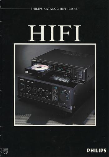 philips 1986 1987 german brochure pdf. Black Bedroom Furniture Sets. Home Design Ideas