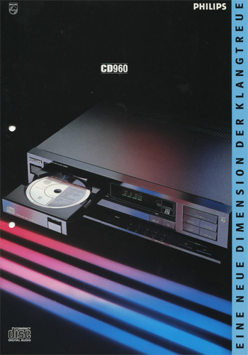 Philips CD960 German brochure PDF