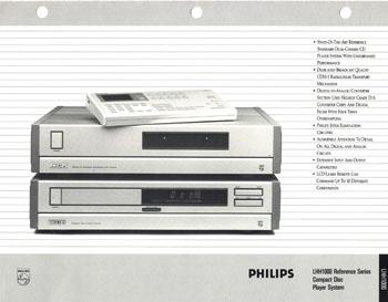 philips lhh1000 technical brochure pdf. Black Bedroom Furniture Sets. Home Design Ideas