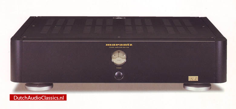 Marantz SM17 power amplifier - DutchAudioClassics.nl
