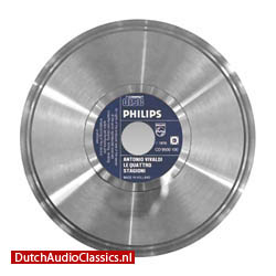 Philips first compact disc