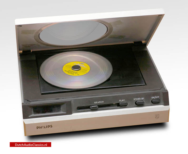 The Philips Pinkeltje was the first cdplayer which Philips showed the world