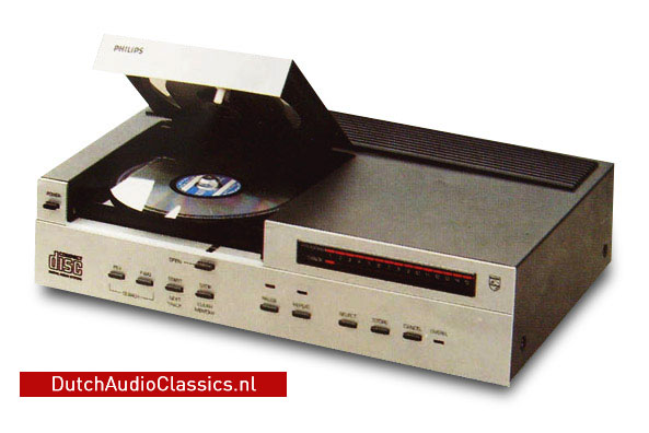 Philips first compact disc player prototype