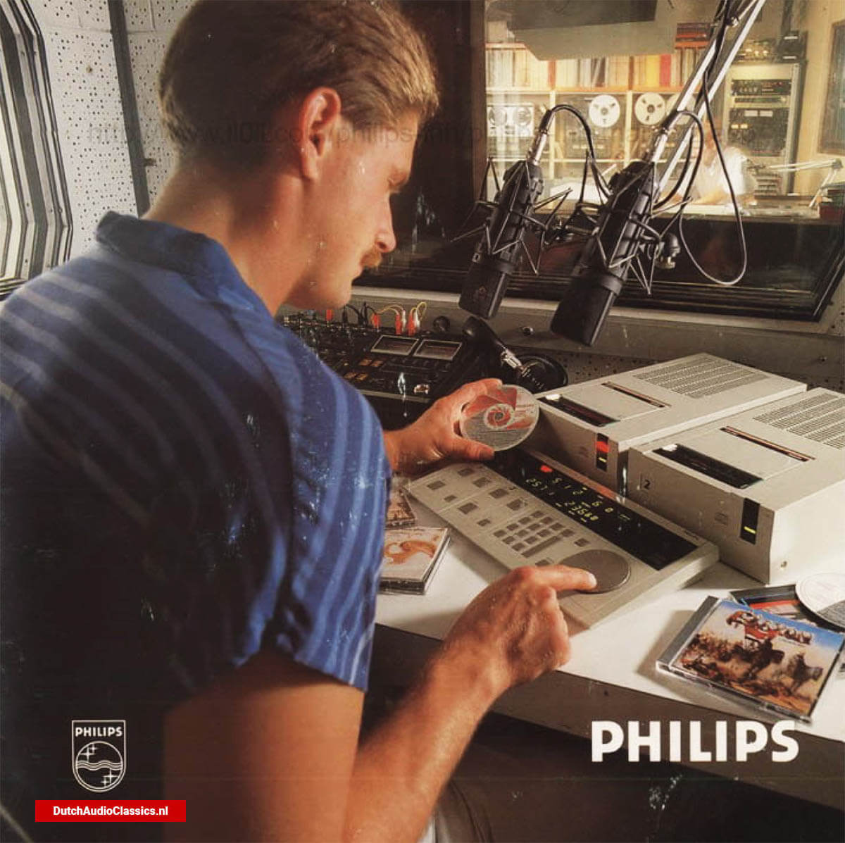 Philips LHH2000 professional broadcast cd player