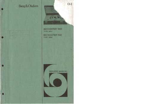 bang and olufsen beocenter 1800 service manual pdf