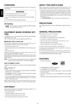 Marantz CD-6000 owners manual PDF