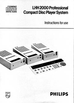 Philips LHH-2000 owners manual PDF