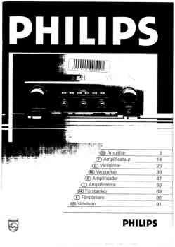 Philips fa-931 owners manual PDF (Dutch)