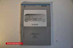 For Sale: Philips DAT850 user manual